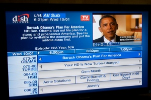 Obama has is own channel on Dish Network!
